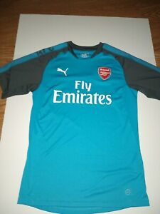Details about Puma Arsenal Fly Emirates Away Jersey Mens Large Blue  Football Soccer Fan Shirt