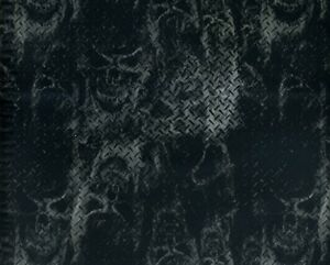 HYDROGRAPHIC FILM WATER TRANSFER PRINTING FILM HYDRO DIP SCARY SKULLS 1SQ