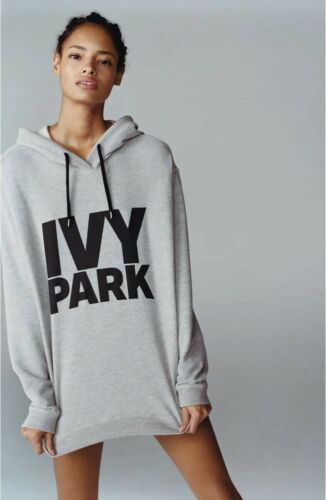IVY PARK Oversized Logo Drawstring Hoodie Size S
