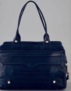 Rebecca Minkoff MAB Luxe Satchel Bag, Black