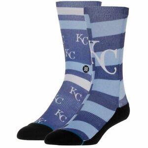 Stance-Kansas-City-KC-Royals-Splatter-Socks-Medium-6-8-5-M558A17ROY-BLU-Blue-M