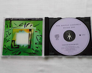 Brian-ENO-The-shutov-assembly-GERMANY-CD-OPAL-WARNER-1992-electronic-MINT