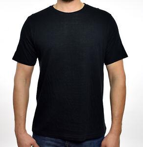 4c3b717af44e6 Rag   Bone Mens Black Ivory Crew Neck Rigby Double Layer T-Shirt XS ...