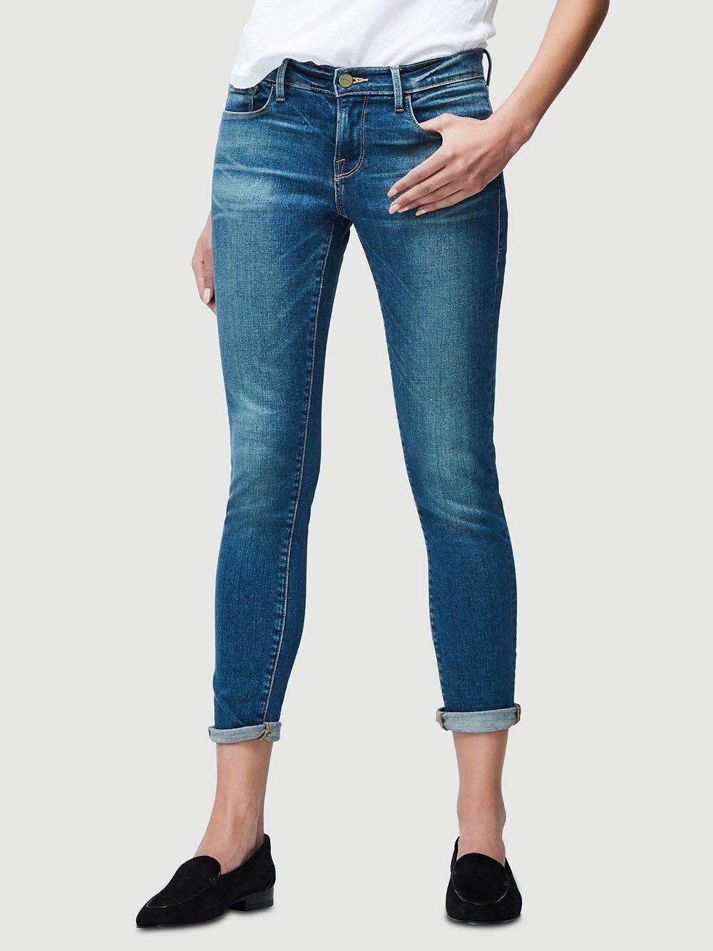 Frame Denim Sz 27 Le Garcon jeans slim boyfriend Ret