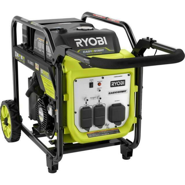 Ryobi Ryi4022x 4000 Watt Gasoline Powered Digital Inverter Generator For Sale Online Ebay
