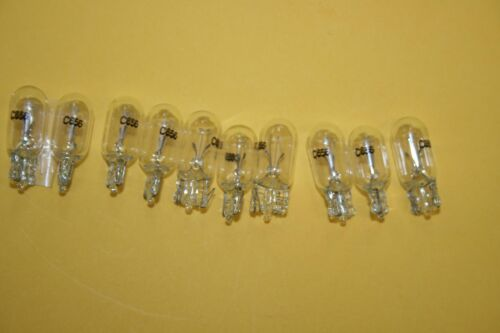 GLOBES LAMPS # 656 Seeburg 28 Volts 60 ma wedge x 10 juke jukebox  SCARCE RARE.