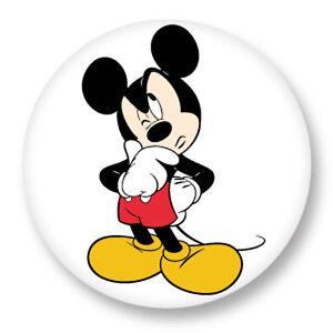 Pin Button Badge ø25mm 1 Walt Disney Mickey Mouse Souris Dessin