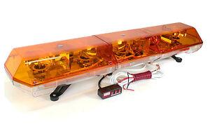 new 48 ems halogen tow truck emergency strobe light bar. Black Bedroom Furniture Sets. Home Design Ideas