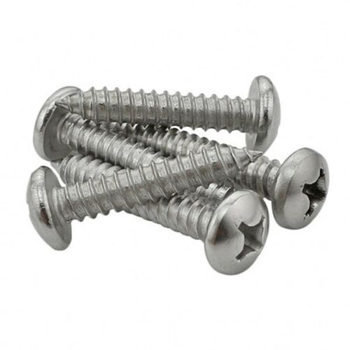M3.5 M4.2 Sheet Metal Screws Pan Head Phillips Self Tapping 304 A2-70 Stainless