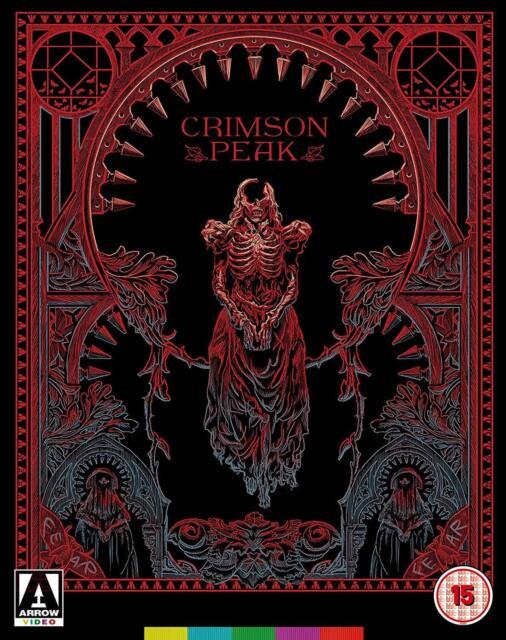 Crimson Peak - Limited Edition Blu Ray Set  RB New Sealed