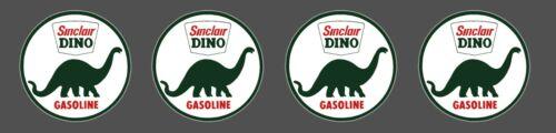 1 INCH SINCLAIR GAS OIL VINYL DIE CUT DECAL STICKER 4