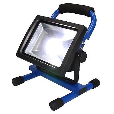 Pflichtbewusst 20 Watt Free Standing Cob Flood Light Lamp Floodlight Portable Site Light