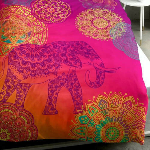 Sister S Bettwäsche Set Noida Bunt Elefant Mandala orientalisch Ornamente