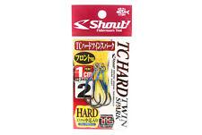 2103 Shout 333-HG TC Hard Gap Spark Twin Rigged Assist Hooks Size 1//0