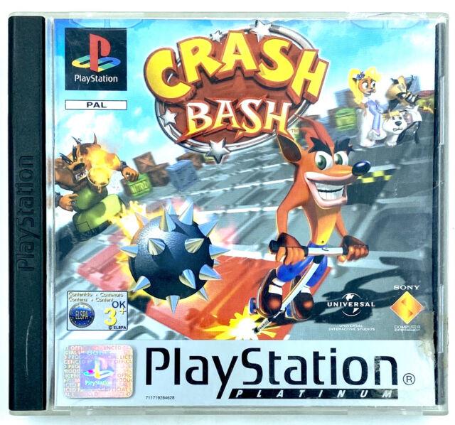 Crash Bash Jeu Sony Playstation 1 PS1 Occasion avec notice PAL FR
