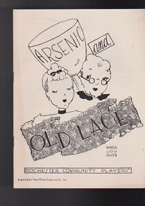 Arsenic-amp-Old-Lace-Rochester-Community-Players-NY-Program-April-1953