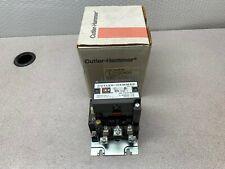 New Cutler Hammer Size 1 Magnetic Contactor 115 120v Coil Starter C10cn3a