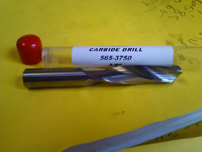".3750/"" 3//8/"" HSS-CO SCREW MACHINE LENGTH DRILL"