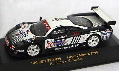 2019 Moda Ixo 1:43 Modello In Metallo Gtm035-saleen Str #20 Fia-gt Monza 2005-nuovo In Scatola Originale-