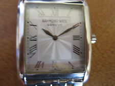#215 mans staainless steel RAYMOND WEIL  don giovanni watch bracelet