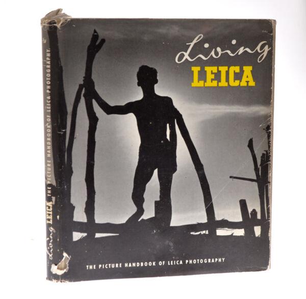 """living Leica"" Libro 1956 In Inglese Ed. Fountain Press D791"