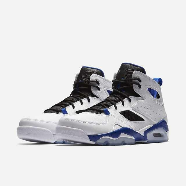 fca42c18de5 Jordan Flight Club  91 Mens 555475-107 White HYPER Royal Black Shoes Size 9  for sale online