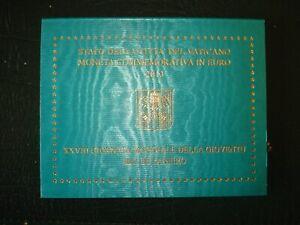 pièce commémorative 2 euros BU Vatican 2013 journée mondiale de la jeunesse RIO