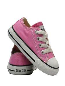 converse bambina basse rosa