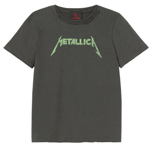 NEW /& OFFICIAL! Metallica /'Neon Logo/' Kids T-Shirt Amp