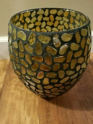 Partylite Mosaic Aurora Tealight Holder-NIB