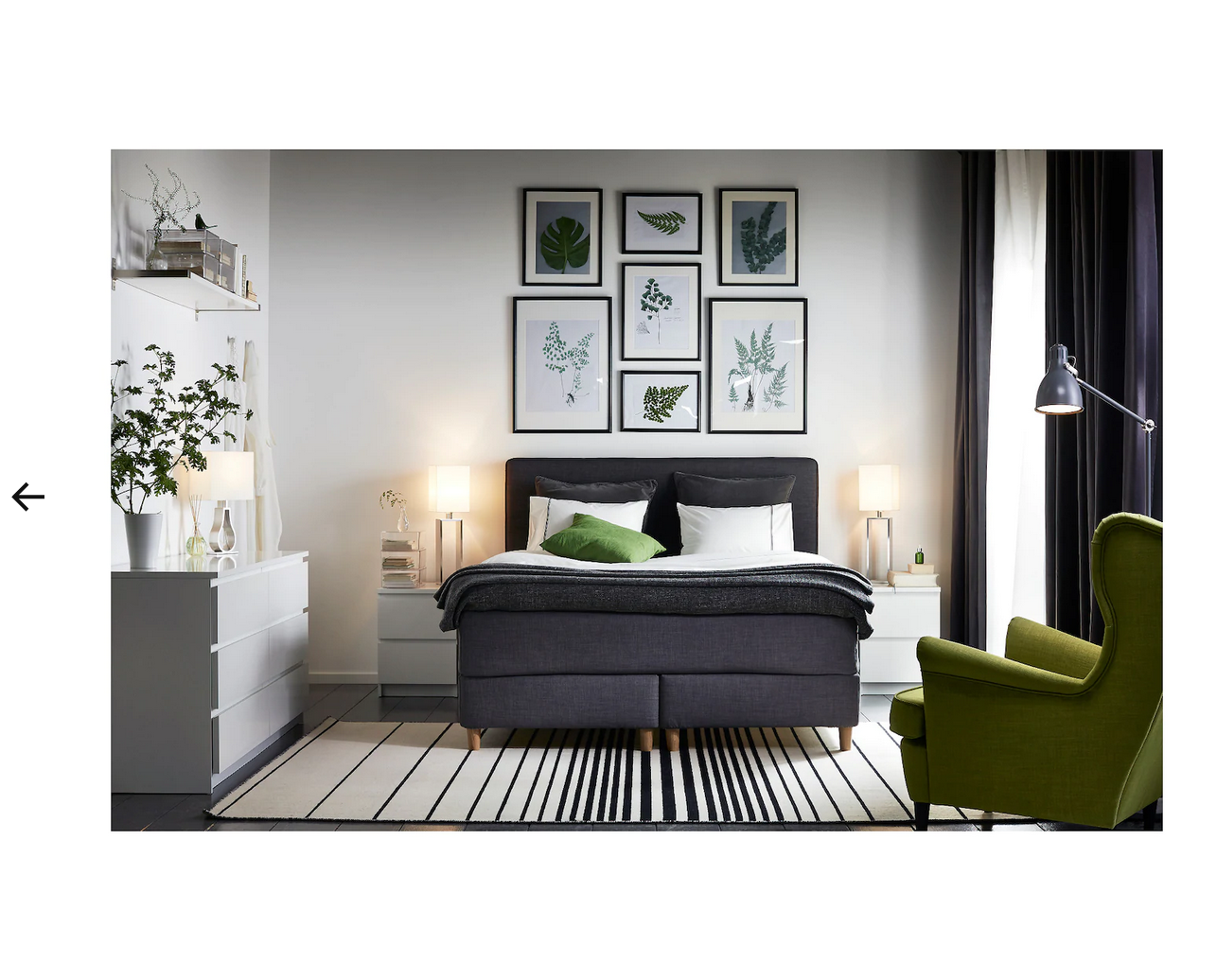 Ikea Nordli Chest Of 2 Drawers White 090 211 64 For Sale Online Ebay