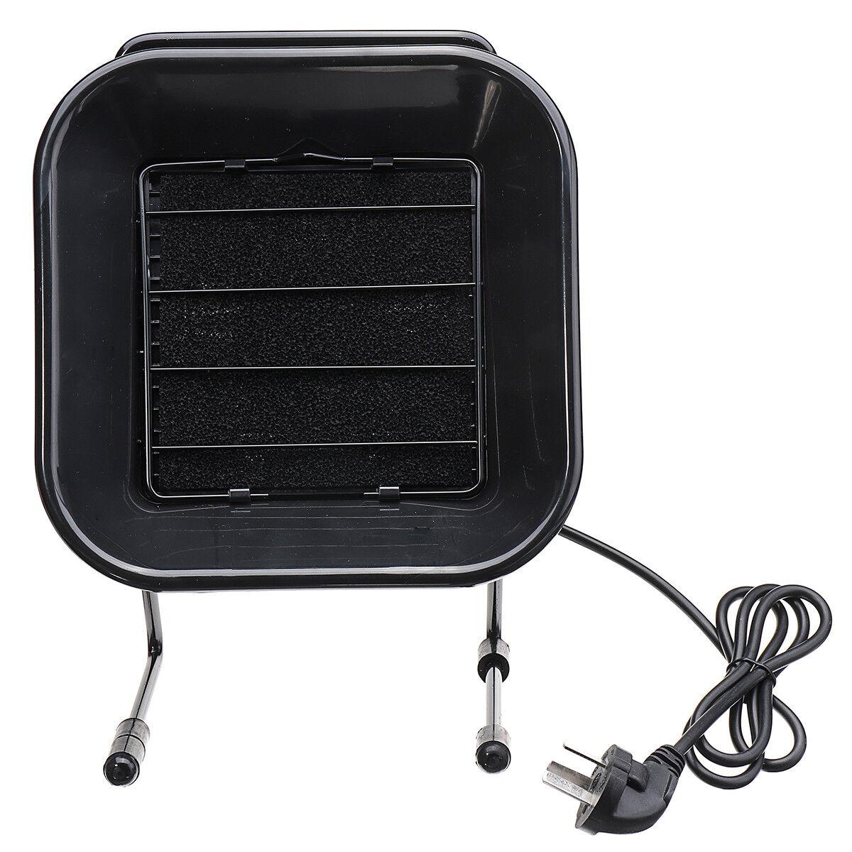 220V 50W Soldering Iron Smoke Absorb Remover Smoke Electrostatic Fan + 3m Air