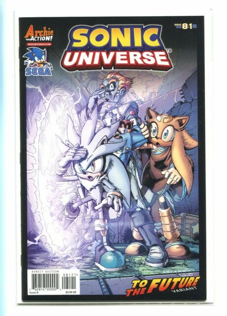 SONIC UNIVERSE #81 HI GRADE 9.2 TO THE FUTURE VARIANT