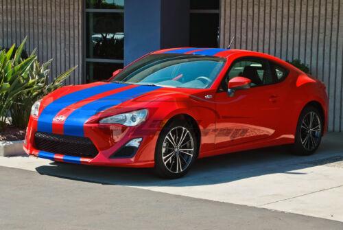 20FT Matte Color Racing Stripes Vinyl Wrap Decal For Scion Toyota FRS 10FT