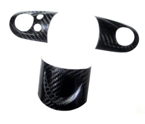Carbon Fiber Steering Wheel Cover Set for Mini Cooper S R55 R56 R57 MFSW 07-13