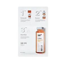 [MISSHA] 3-Step Sheet Mask (Vitamin-C) 1.5g+22g+1.5g / All in one Mask pack New