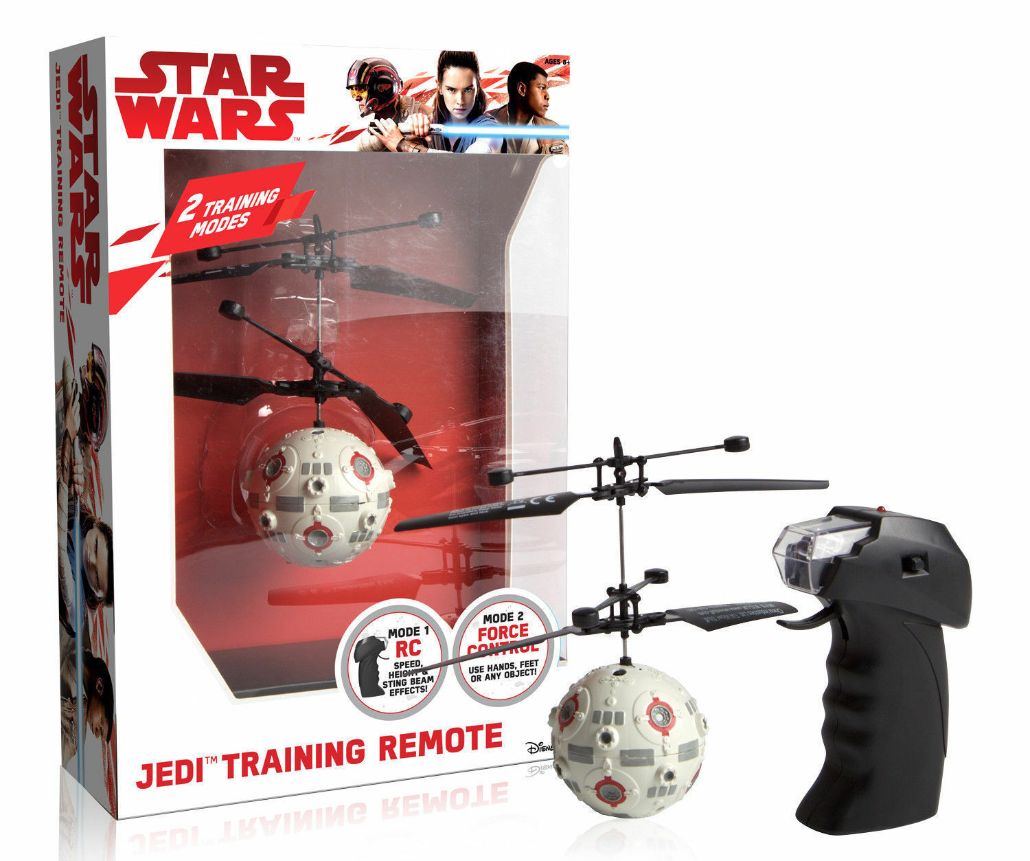 STAR WARS JEDI TRAINING REMOTE FLYING TOY - REMOTE OR HAND CONTROL BRAND NEW
