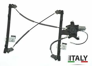 SEAT-AROSA-VW-LUPO-1997-2005-FRONT-LEFT-PASSENGER-WINDOW-REGULATOR-WITH-MOTOR