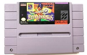 Extra Innings SUPER NINTENDO SNES Original GAME Tested + Working & Authentic!