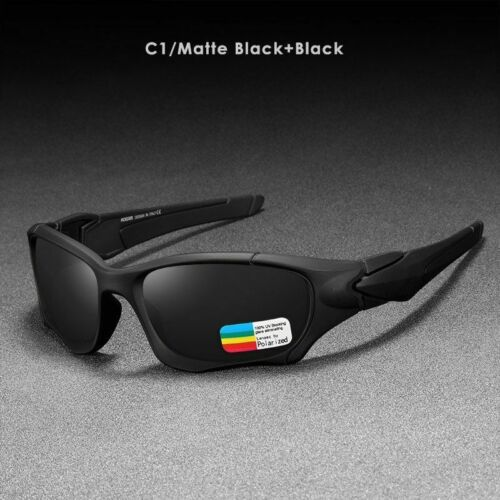 Outdoor Sports Polarized Sunglasses Men Curve Cutting Frame Stress-resistant