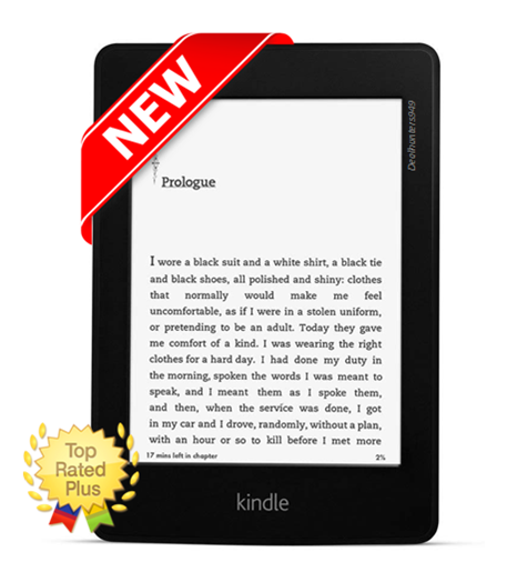 Amazon Kindle Paperwhite (6th Generation) 2GB, Wi-Fi, 6in - Black