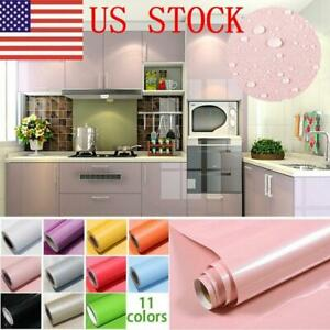 US-Kitchen-Cupboard-Drawer-Liner-Cover-Self-Adhesive-PVC-Wall-Sticker-Waterproof