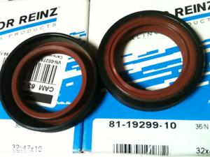 2x-REINZ-Wellendichtring-Kurbelwelle-Nockenwelle-Simmering-AUDI-VW-Skoda-SEAT-99