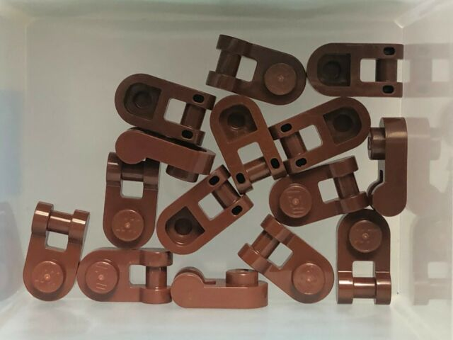 LEGO Parts - Reddish Brown Plate 1 x 1 Rounded w Handle ...