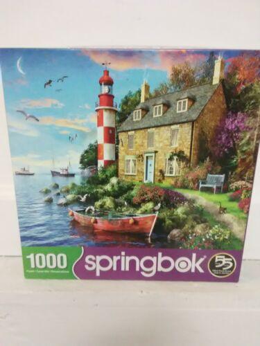 Springbox 1000pc puzzle Secret Cottage