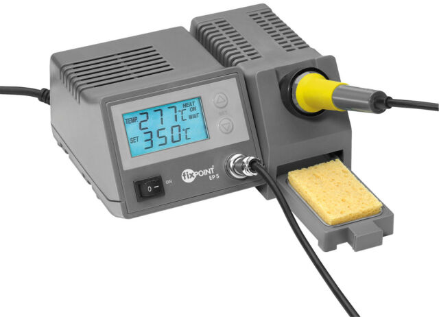 Digitale Lötstation mit Soll- und Ist- Temperaturanzeige für EP5
