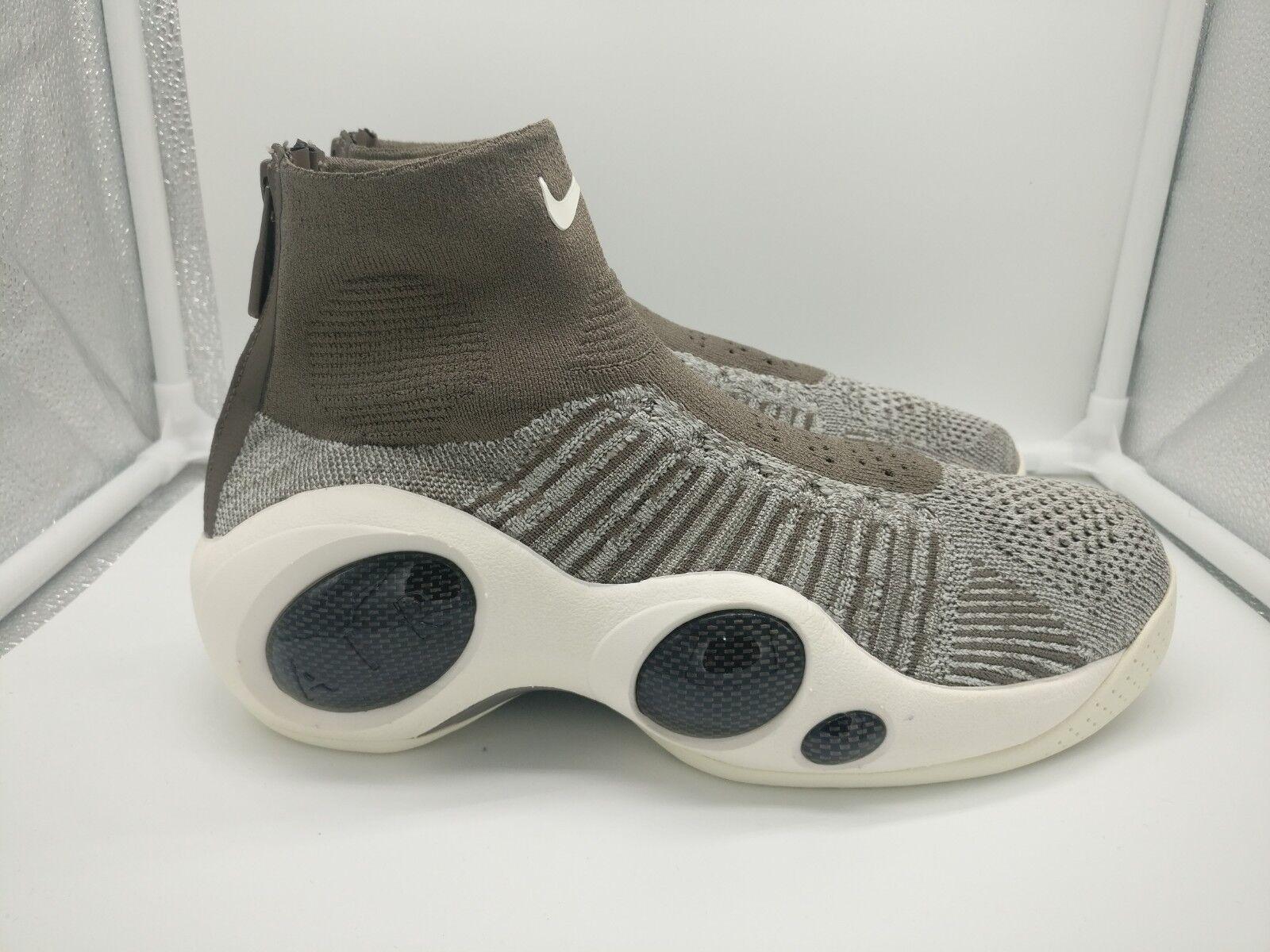 Nike Flight Bonafide UK 7.5 oscuro hongo gris pálido Vela 917742-201