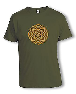 Op-Art Spirale T-Shirt | Psychedelic | Acid | Spiral | verschiedene Farben