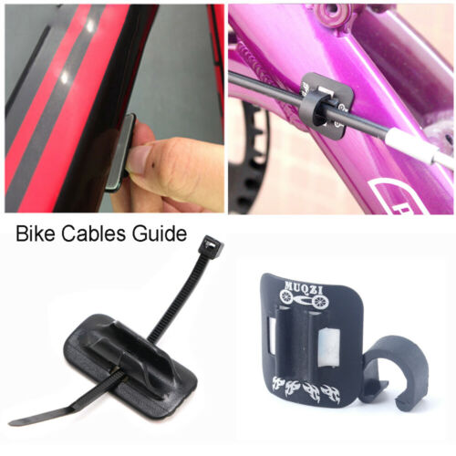 Frame Bike Cable Guide Housing Base Clip Bicycle Accessories Fitting Line Tube