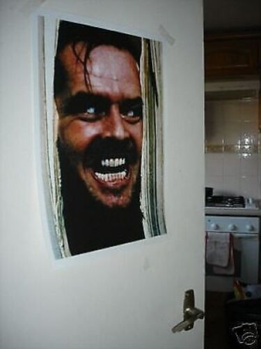 Jack Nicholson The Shining Famous Shot NEW Poster